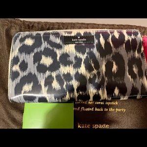Brand new Kate spade zebra wallet